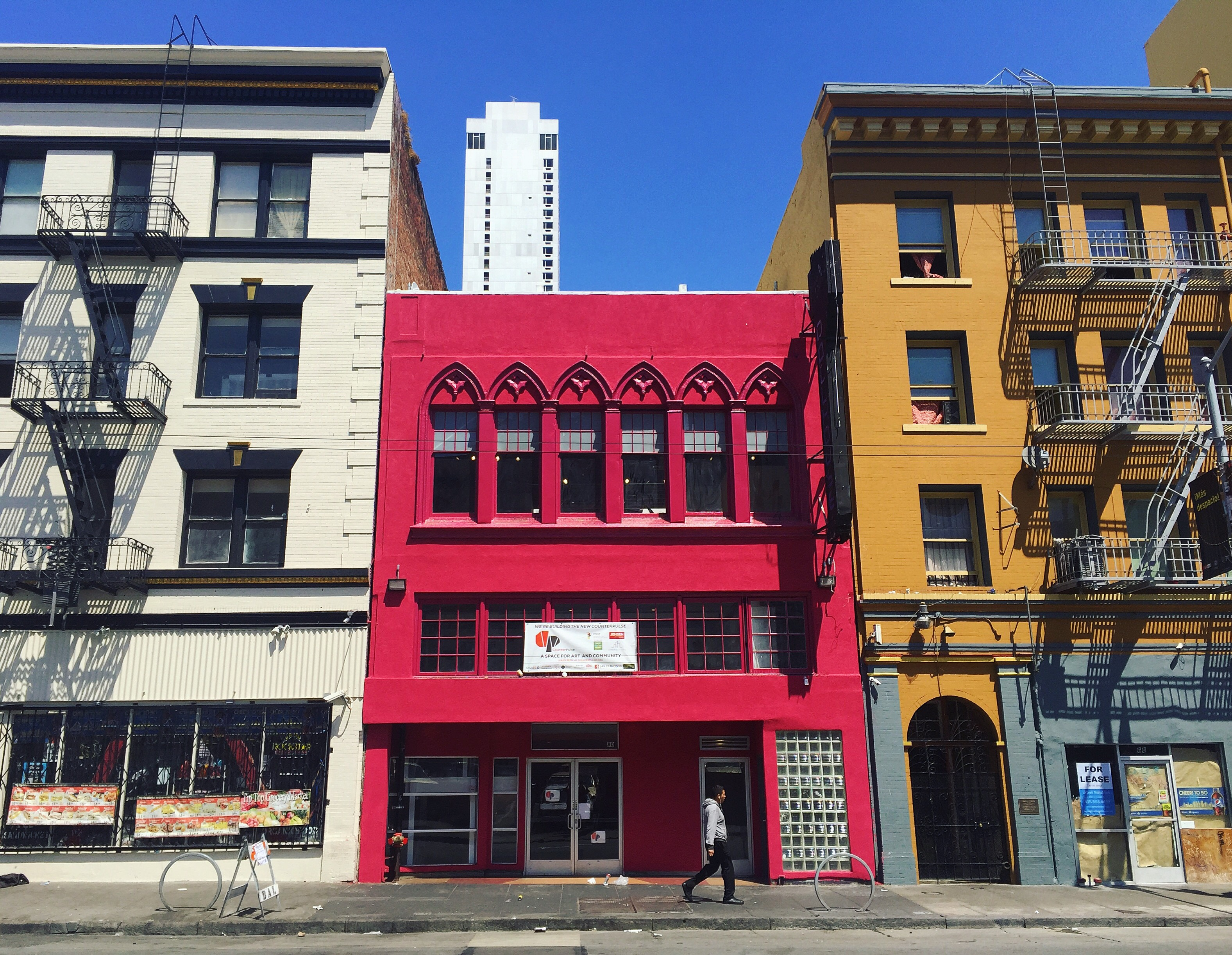 80 Turk, as of August 2016, more façade updates still to come!