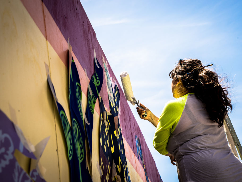 Of Process & Resilience: A Conversation with Twin Walls Mural Co.